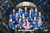 2014/2015 HTC 11th/12th Volleyball